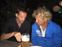 Mentalcoach Peter Tümmers und Skispringer Sven Hannawald im Gespräch