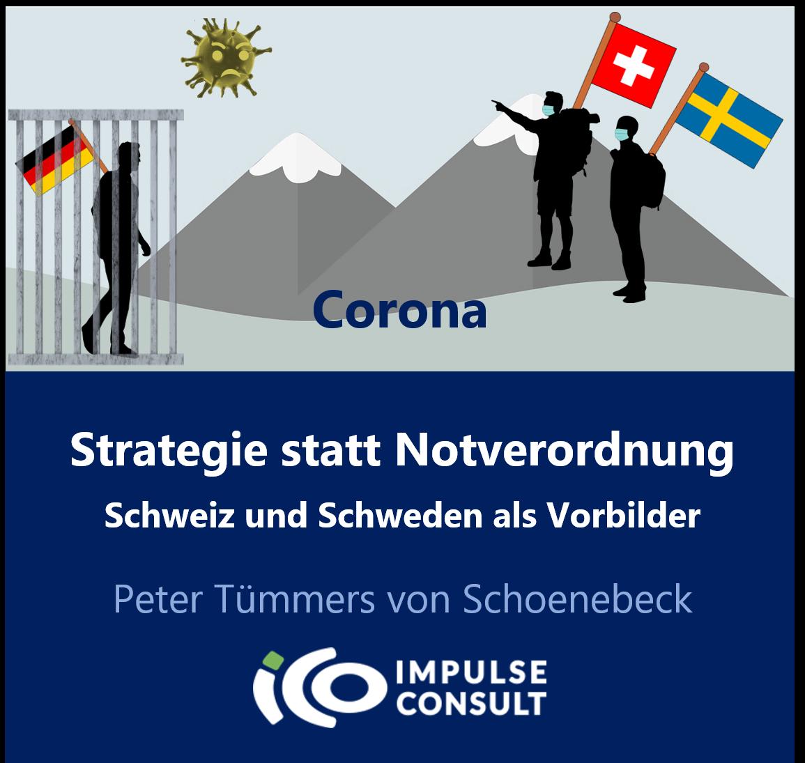 Strategie statt Notverordnung - Schweiz und Schweden als Vorbilder