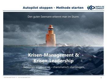 ICO Krisen-Manager und Leader