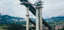 kisprungschanze-Oberstdorf Skywalk