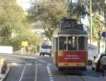 Lissabon Tram - Portugal Artikel