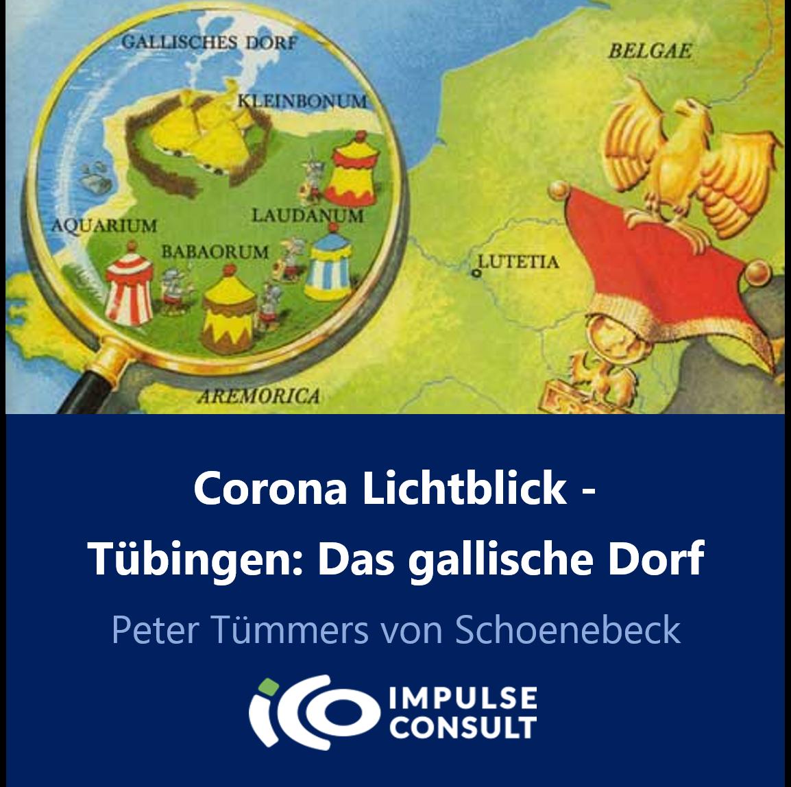 Titelbild Tübingen, das gallische Dorf