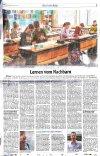 Zeitungsartikel 'Lernen vom Nachbarn' - Allgäuer Zeitung