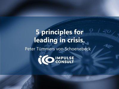 Titelbild 5 Prinzipien für Führen in Krise Kompass