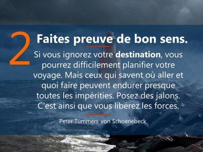 2. sei sinnstiftend  5 Prinzipien Führen in Krise französisch Mrz21