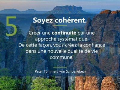 5. sei konsequent  5 Prinzipien Führen in Krise französisch Mrz21