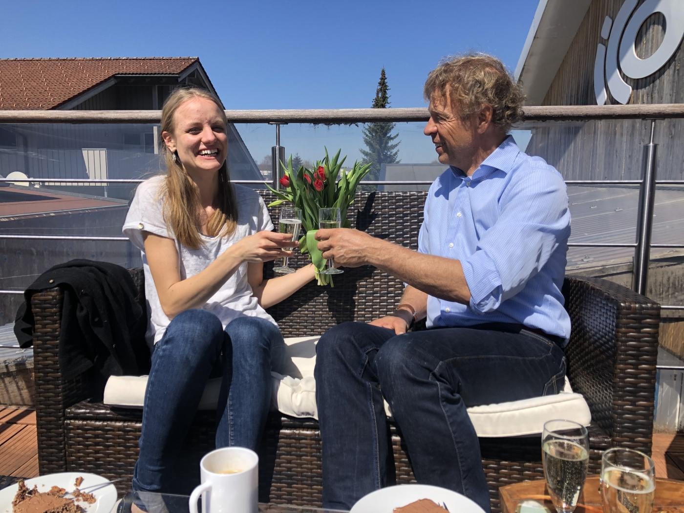 ICO GmbH verabschiedet Cornelia Leifick