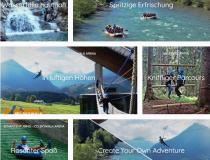 Outdoor-Adventure Sommer Übersicht