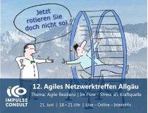 Einladung 12. Agiles Netzwerktreffen Allgäu