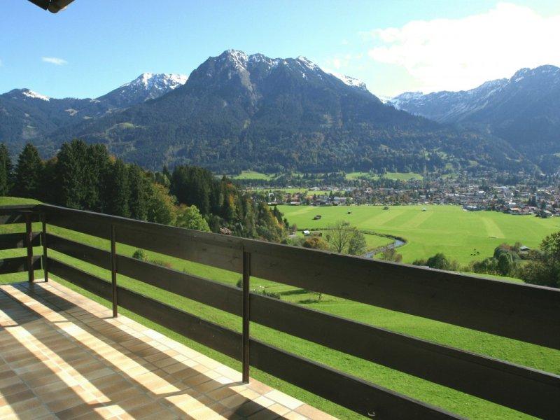 Teilblick vom Balkon