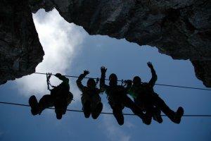 Klettersteig im Kleinwalsertal