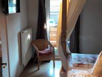 Fewo Elternschlafzimmer mit TV