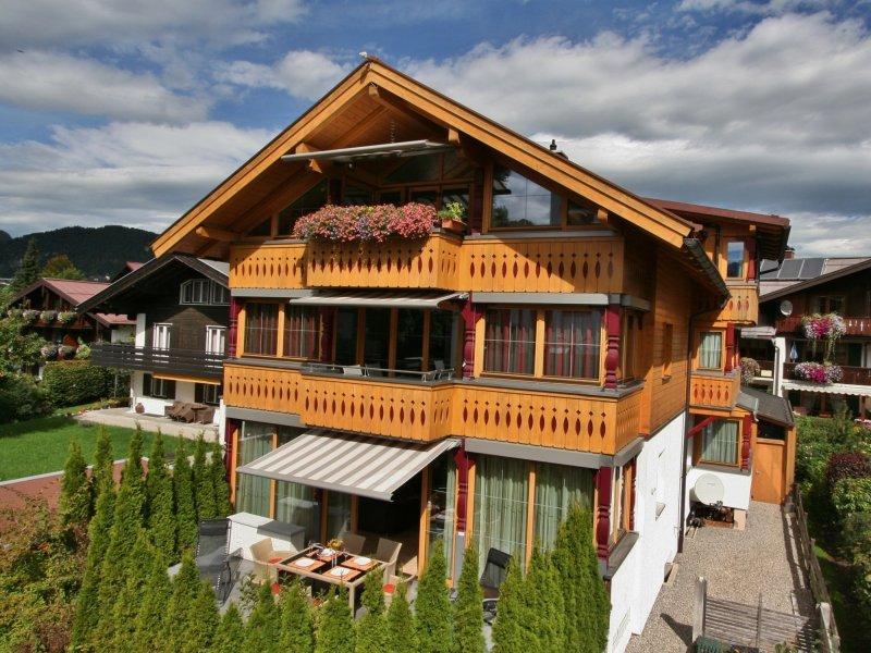 Landhaus Alpenflair, Blick von Süden