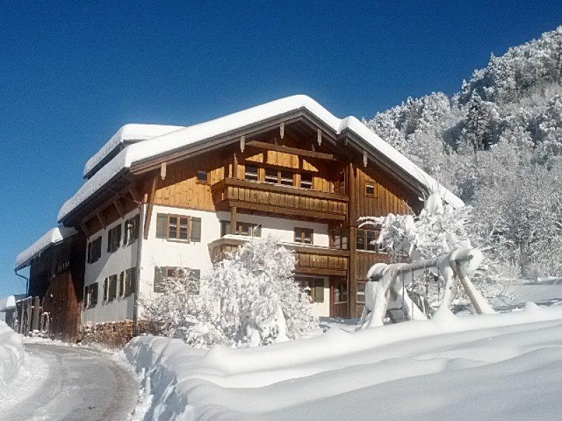 Haus im Winter 2021