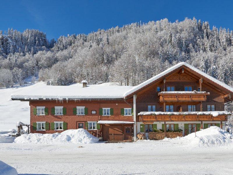 Gästehaus Rietzler Winterbild
