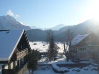 Aussicht aus der Junior-Suite im Winter