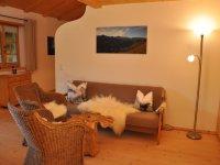 Wohnraum Ferienwohnung Fellhorn