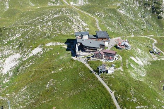 Nebelhorn Station Höfatsblick