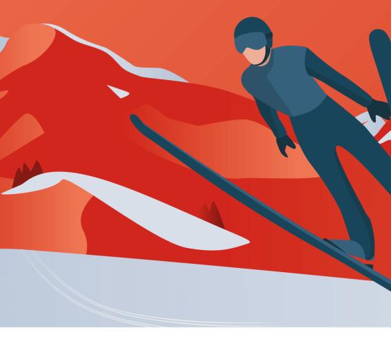 Header Skisprung