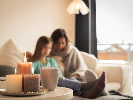 Vorlesen bei Kerzenschein