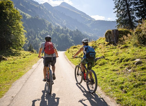 Radtour ins Rappenalptal