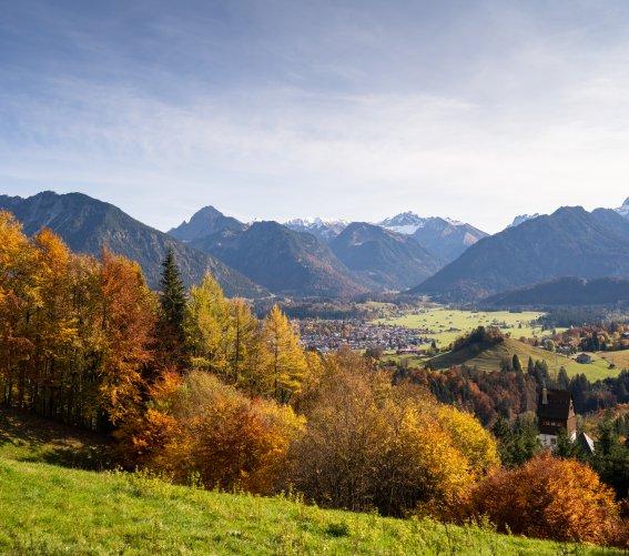 Herbstliches Tiefenbach