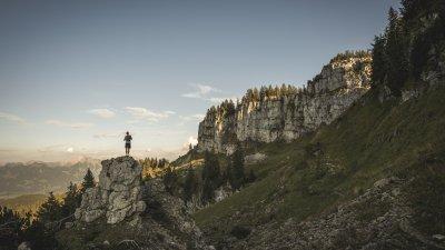Ausblick auf die Oberstdorfer Berge