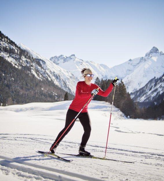Langlaufen im Oberstdorfer Süden