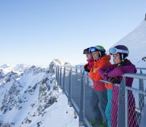 Nordwandsteig am Nebelhorn