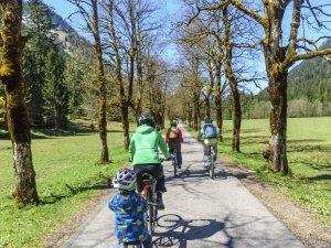 Radfahren im Oytal