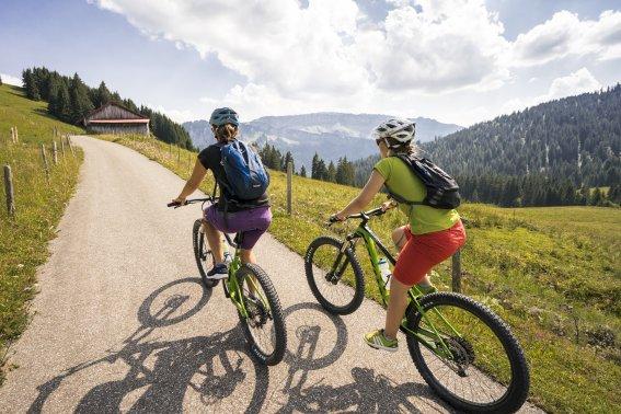 Unterwegs mit den Bikes