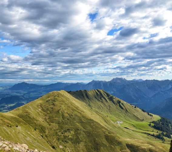 Bergtour am Fellhorngrat