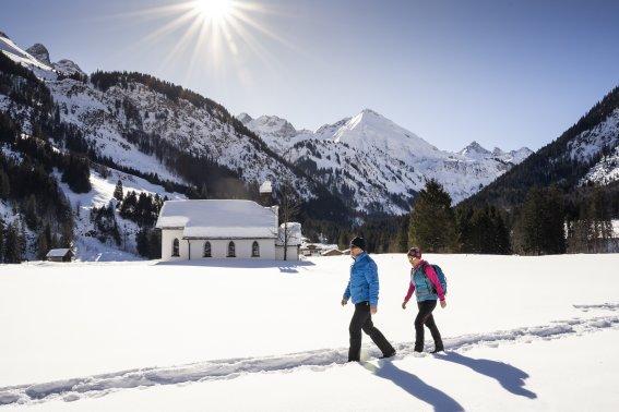 Winterwanderung im Stillachtal