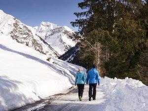 Winterwandern zu zweit