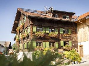 altes Holzhaus in Reichenbach