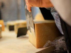Eine Scheibe Käse