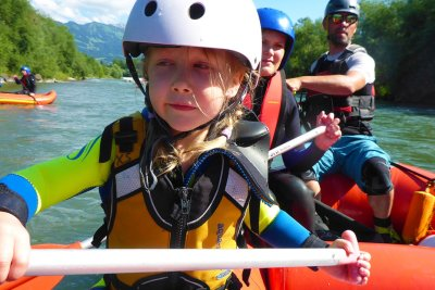 MAP - Rafting Familienrafting