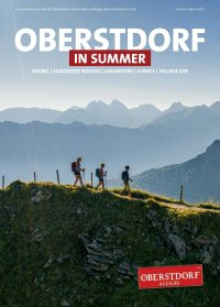 Oberstdorf in summer 2021