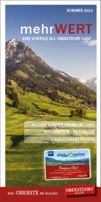 Vorteile Allgäu Walser Premium Card Sommer 2021