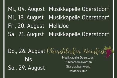 Biergarten August