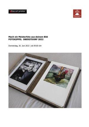 Oberstdorfer Fotogipfel - Infoblatt Meisterfoto