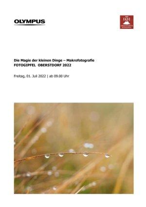 Oberstdorfer Fotogipfel - Infoblatt Makrofotografie
