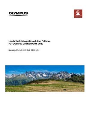 Infoblatt Landschaftsfotografie