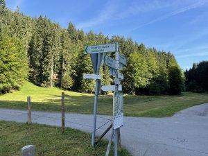 Abzweigung Lochbachtal