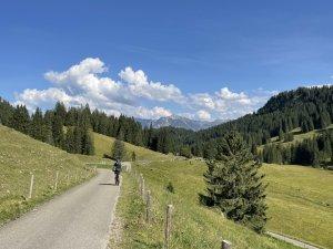 Radler im Lochbachtal