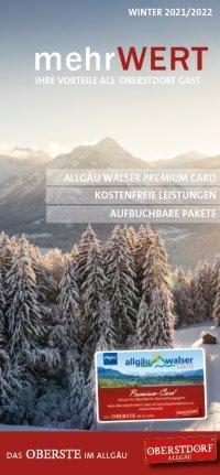 Vorteile Allgäu Walser Premium Card Winter 21/22