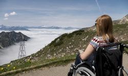 Ausblick genießen vom Nebelhorn