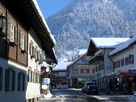 Oststrasse im Winter
