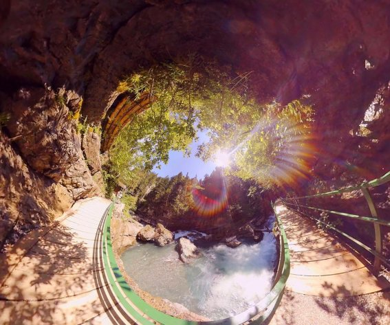 360° Breitachklamm