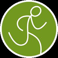 Trail-running-grün